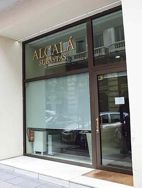 Nº 9. ALCALÁ SUBASTAS (casa de subastas). www.alcalasubastas.es / 91 577 87 97