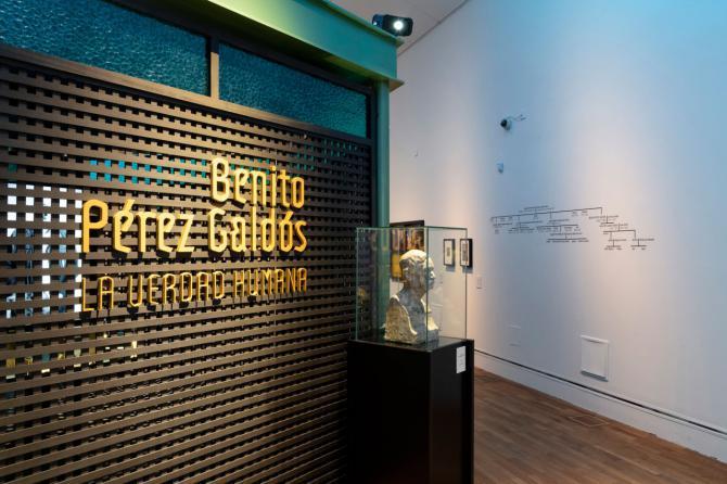 Más de 20.000 personas visitan la exposición conmemorativa de Benito Pérez Galdós