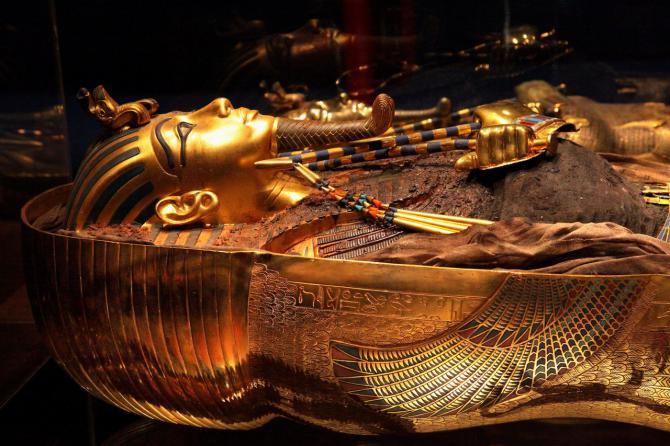Llega a Madrid 'Tutankhamón: La tumba y sus tesoros', una espectacular reconstrucción de la tumba del faraón egipcio