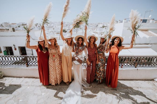 Espacio mágico en Cádiz, para celebrar una boda 'shabby chic'