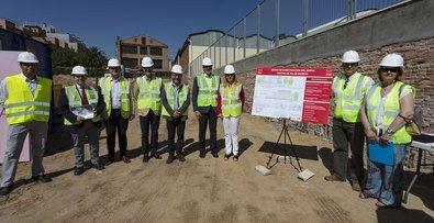 La Comunidad inicia las obras para la construcción de un nuevo centro de salud en Guindalera.