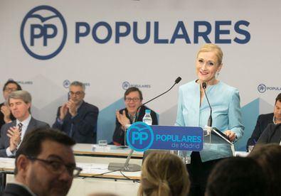 Confía en seguir al frente de los populares de Madrid