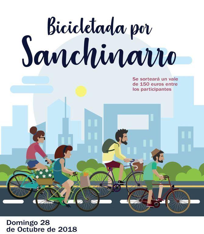 Bicicletada en Sanchinarro para pedir mejoras ciclistas
