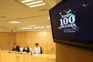Imagen de la presentación del proyecto de Presupuestos Participativos del año pasado. Para esta nueva también se han destinado 100 euros.