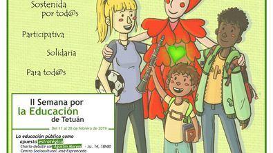 La II Semana de la Educación, en las bibliotecas públicas de Tetuán