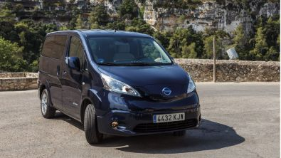 Gran éxito de la Nissan e-NV200