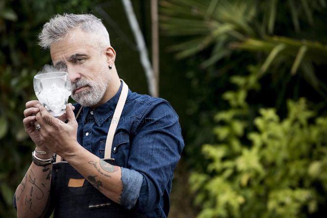 Sergi Arola reflexiona sobre la actualidad del panorama gastronómico en su nuevo restaurante de Madrid.