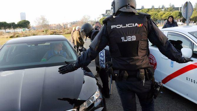 Tras el aumento de licencias, en Madrid hay un VTC por cada cuatro taxis.