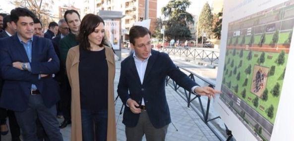 José Luis Martínez Almeida ha presentado su proyecto para soterrar la A5