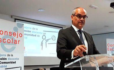 Jornada sobre la Mejora de la Profesión Docente en la Comunidad de Madrid