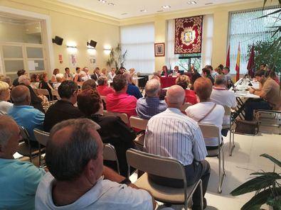 Imagen de archivo de un Pleno en la Junta de Hortaleza