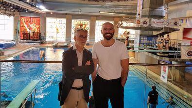 El consejero de Cultura, Turismo y Deportes, Jaime de los Santos, visitaba las instalaciones deportivas esta semana.