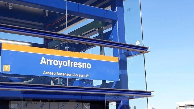 El sábado entrará en funcionamiento la nueva estación de Metro de Arroyofresno.