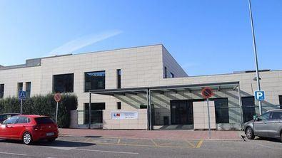 Uno de los centros de salud de la Comunidad de Madrid.