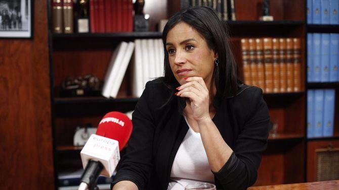 Begoña Villacís confía en sus posibilidades y promete ser 'embajadora de Madrid, no del Begoñismo'.
