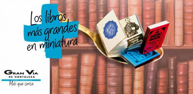El centro comercial Gran Vía de Hortaleza celebra el mes del libro con la exposición 'La Biblioteca de Liliput'
