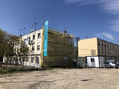 Tras 60 años, obras en el barrio del Aeropuerto