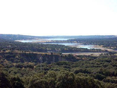 El Monte de El Pardo, desde el aire.