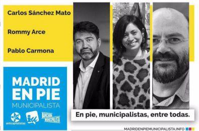 Madrid En Pie Municipalista se presenta hoy en Hortaleza