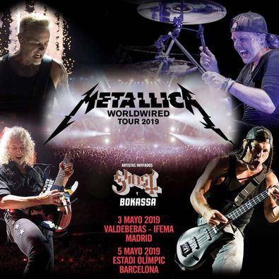 EMT pone buses gratis al concierto de Metallica