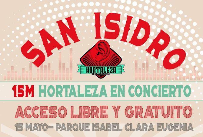 Hortaleza celebra su San Isidro en el parque Isabel Clara Eugenia