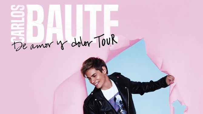 Cartel oficial de la gira de Carlos Baute.