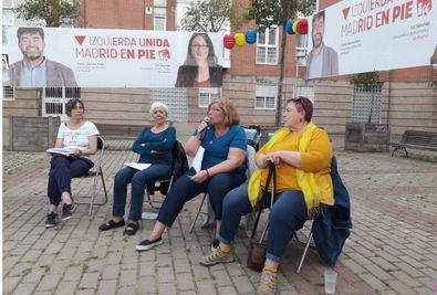 Los candidatos al 26M visitan Hortaleza