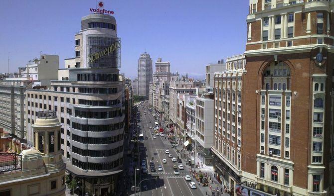La Gran Vía es la calle comercial más transitada de España, según un reciente informe.
