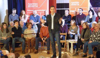El PSOE al completo cierra la campaña electoral en Hortaleza