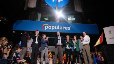 Madrid se inclina a la derecha