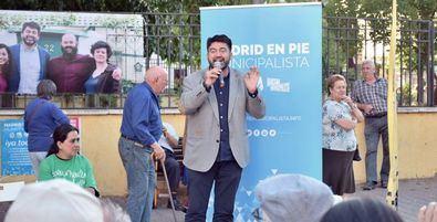 Carlos Sánchez Mato, candidato de Madrid en Pie