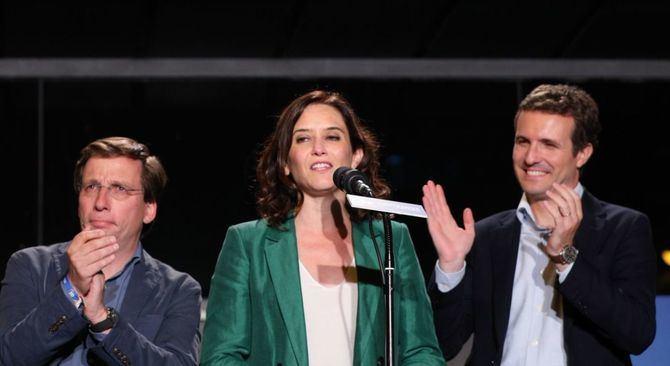 ¿Quién ganó en el distrito de Salamanca, Almeida, Ayuso o Casado?