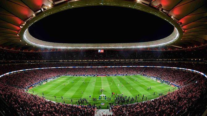 El estadio Metropolitano acogerá este sábado la final de la Champions. Madrid se blindará para la ocasión.