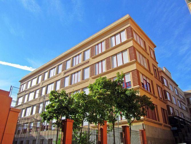 Fachada del centro cultural Nicolás Salmerón