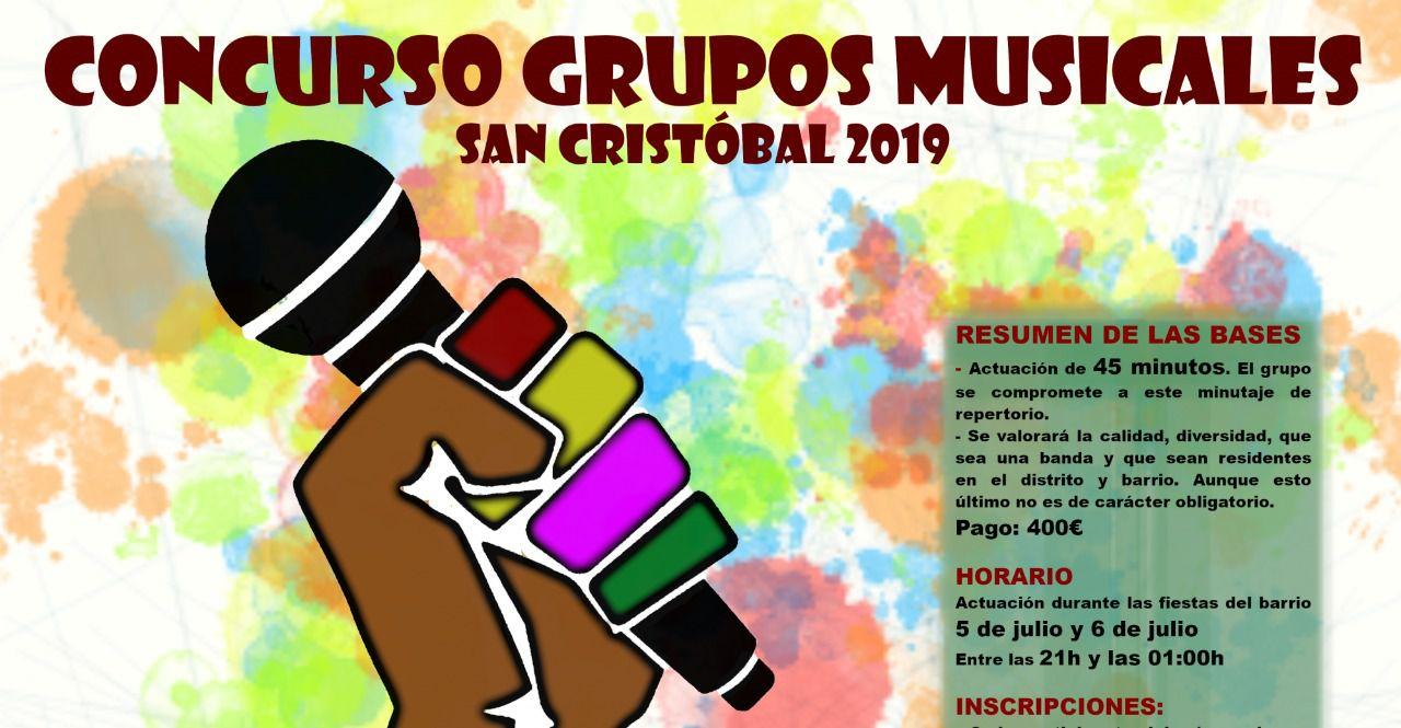 Preparando el concurso de bandas musicales de San Cristóbal