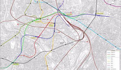 El estudio de ampliación de la Línea 11 de Metro, listo