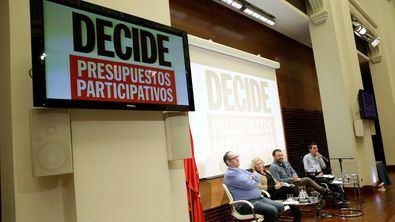 Imagen de archivo de una de las presentaciones de Presupuestos Participativos.