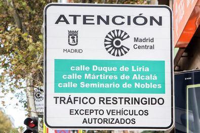 Madrid Central anulará un mes de multas