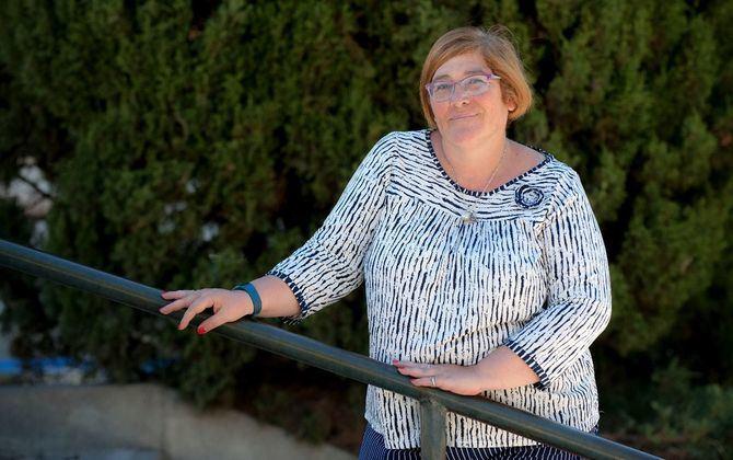 Yolanda Rodríguez, concejala presidenta de Hortaleza
