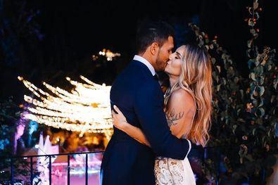 La boda de ensueño la 'influencer fit' que desata pasiones