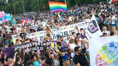Sin políticos en la manifestación del Orgullo