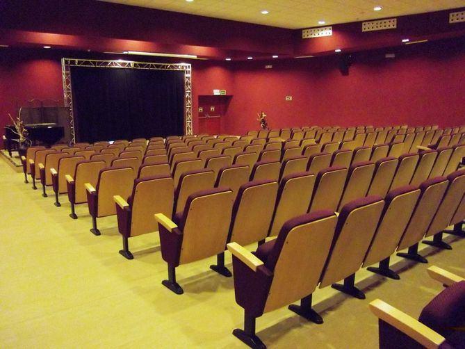 Interior del centro cultural Príncipe de Asturias.