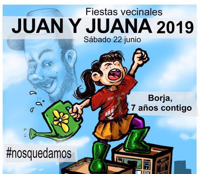 La Unión de Hortaleza celebra las fiestas de Juan y Juana