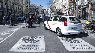 El Ayuntamiento ha ordenado la moratoria de las multas de Madrid Central. A partir del lunes no se multará.