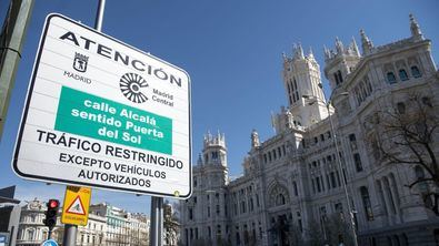 Aquellos vehículos que accedan a Madrid Central, sin cumplir los requisitos, volverán a ser sancionados.