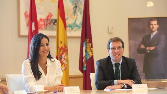 Se cumple un mes de la formación del Gobierno con Almeida de alcalde y Villacís de vicealcaldesa.