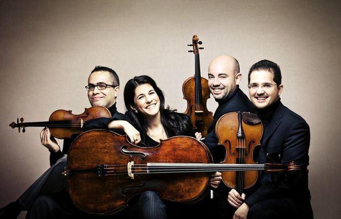El Cuarteto Quiroga.
