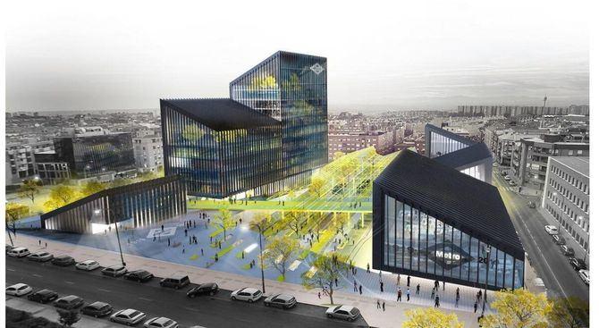 Recreación de cómo quedará la nueva sede de Metro.