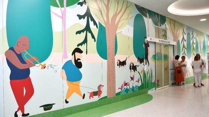 La nueva decoración está inspirada en el próximo parque de El Retiro.
