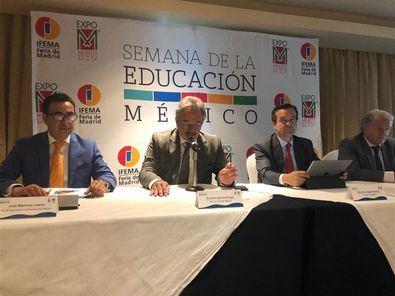 """""""Más de 8.000 asistentes previstos"""" en la Semana de la Educación México"""